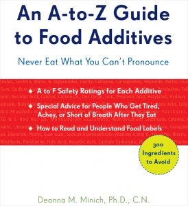 Book Cover: An A-Z Guide to Food Additives